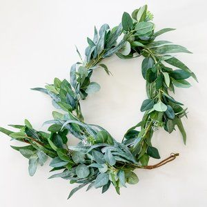 Hearth and Hand with Magnolia Eucalyptus Garland